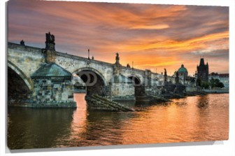 Lienzo Charles Bridge in Praga